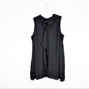 Lane Bryant Size 26 Sleeveless Black Mini Dress K3